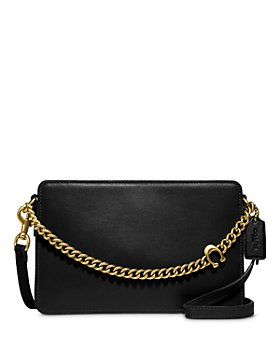 COACH - Chain Leather Crossbody