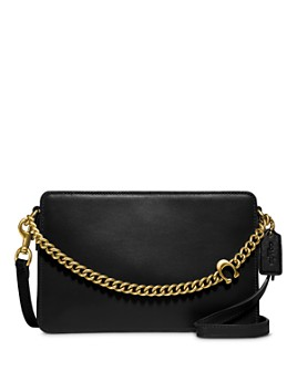 COACH - Chain Leather Crossbody