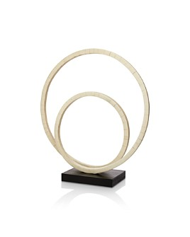 Jamie Young - Helix Double Ring Sculpture