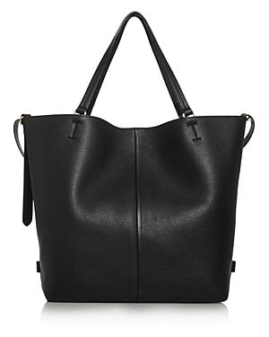 Max Mara Plage Medium Leather Tote-Handbags