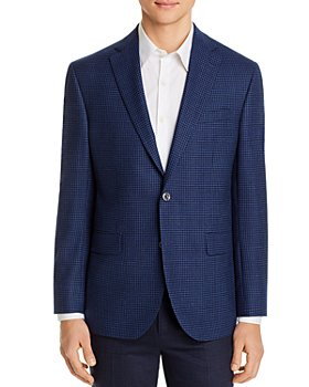 Jack Victor - Conway Micro-Check Regular-Fit Sport Coat