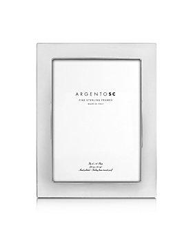 """Argento SC - Castell Sterling Silver 8"""" x 10"""" Picture Frame"""