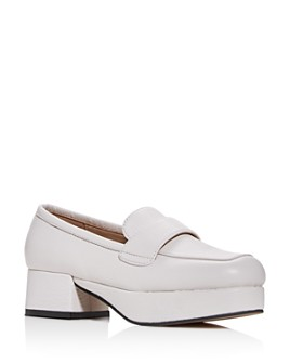 Jeffrey Campbell - Women's Student Square-Toe Platform Loafers