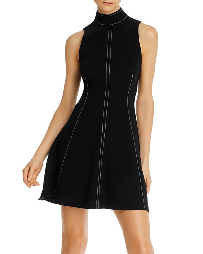 Cinq à Sept - Bow-Neck Sleeveless Mini Dress