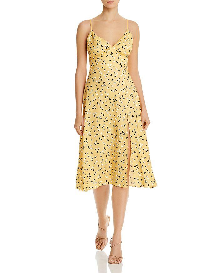 Amanda Uprichard - Amory Floral-Print Midi Dress