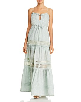 Jonathan Simkhai - Kava Eyelet Maxi Dress Swim Cover-Up