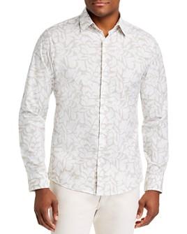 Michael Kors - Leaf Stretch Slim Fit Shirt