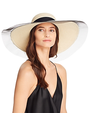 Eugenia Kim Sunny Contrast-Trim Sun Hat