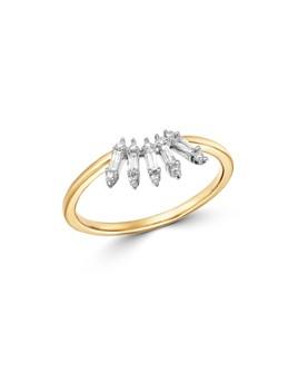 Adina Reyter - Diamond Stick Ring in 14K Gold, 0.13 ct. t.w.