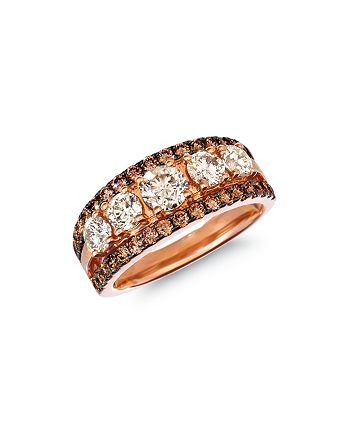 Bloomingdale's - Champagne Diamond Classic Band in 14K Rose Gold, 2.03 ct. t.w. - 100% Exclusive