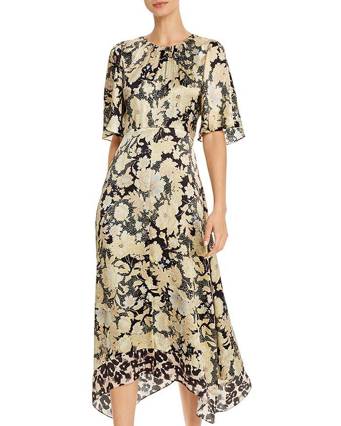 Rebecca Taylor - Floral-Print Silk Dress