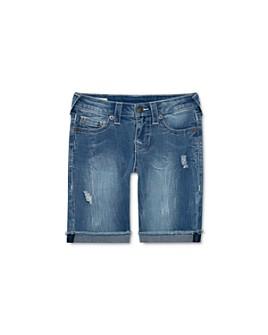 True Religion - Boys' Geno Ripped Denim Shorts - Little Kid, Big Kid