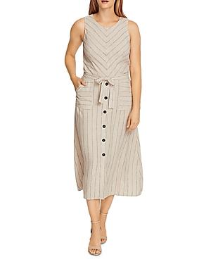 Vince Camuto Dresses SLEEVELESS STRIPED DRESS