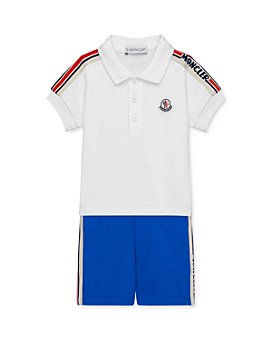 Moncler - Boys' Polo Top & Shorts Set - Baby, Little Kid
