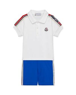 Moncler - Boys' Polo Top & Shorts Set - Baby, Little Kid