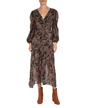 The Kooples Tanger Paisley Maxi Dress