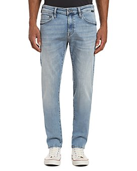 Mavi - Jake Slim Fit Jeans in Light Distressed