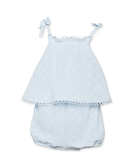 Bardot Junior - Girls' Dobby Frilled Grow Romper - Baby