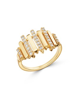 Bloomingdale's - Diamond Statement Ring in 14K Yellow Gold - 100% Exclusive