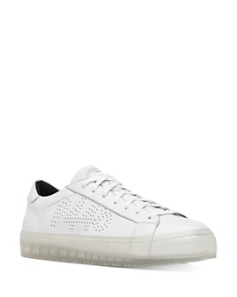 P448 - Women's Perforated Logo Sneakers