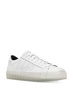P448 Women\\\'s Perforated Logo Sneakers
