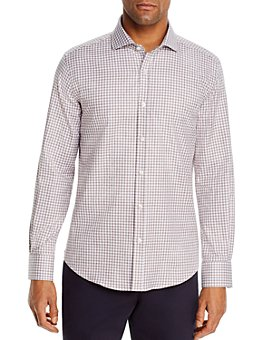 Dylan Gray - Heathered Gingham Classic Fit Shirt