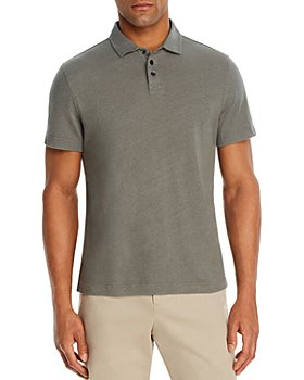 The Men's Store at Bloomingdale's - Linen & Cotton Solid Classic Fit Polo Shirt - 100% Exclusive