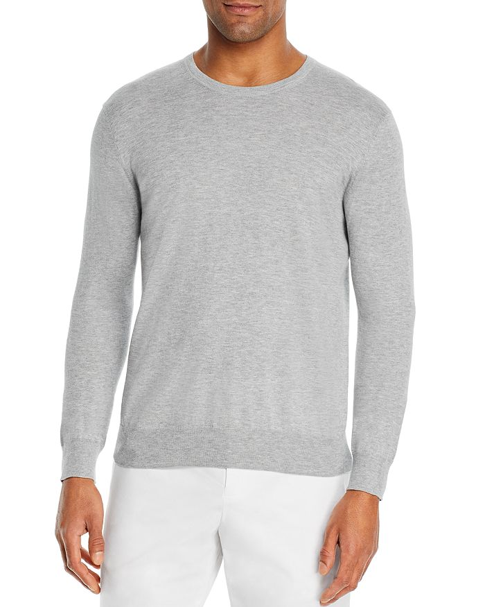 The Men's Store at Bloomingdale's - Cotton Blend Crewneck Sweater - 100% Exclusive