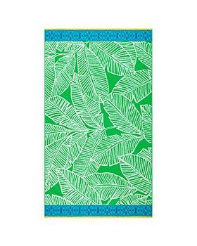 Sky - Cotton Tropical Leaf Beach Towel - 100% Exclusive