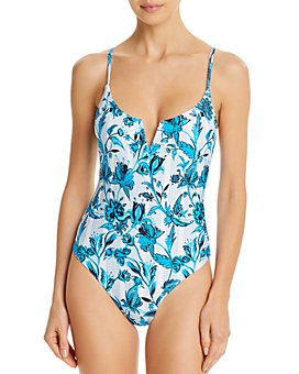 Red Carter - V-Wire Maillot One Piece Swimsuit