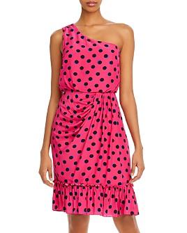 Derek Lam 10 Crosby - Taula Polka-Dot One-Shoulder Dress