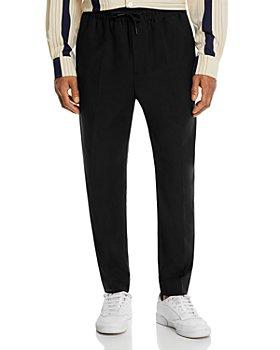Etudes - Cotton Regular Fit Drawstring Pants