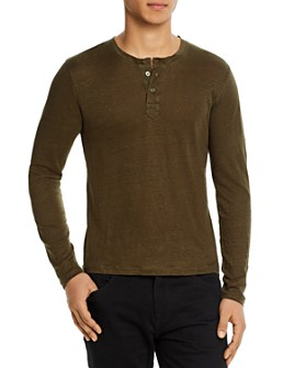 7 For All Mankind - Linen Henley