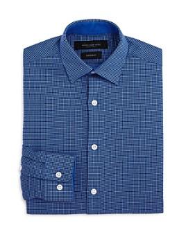 Andrew Marc - Boys' Neat Dot Dress Shirt - Big Kid