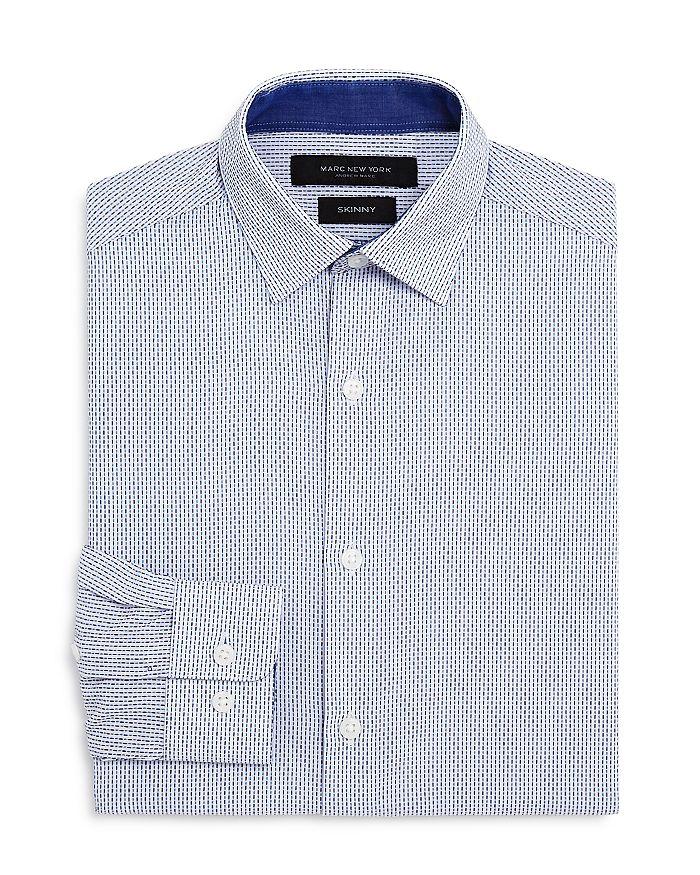 Andrew Marc - Boys' Mini Stripe Dress Shirt - Big Kid