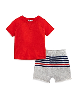 Splendid Boys\\\' Tee & Striped Shorts Set - Baby-Kids
