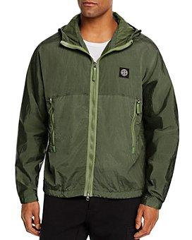 Stone Island - Color-Blocked Hooded Jacket