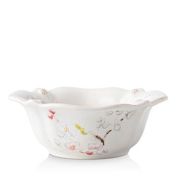 Juliska - Berry & Thread Floral Sketch Cherry Blossom Cereal/Ice Cream Bowl
