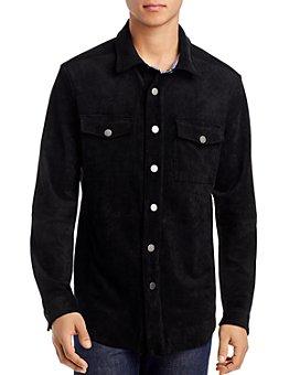 BLANKNYC - Faux Suede Slim Fit Shirt