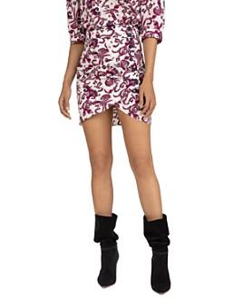 ba&sh - Roster Paisley Mini Skirt