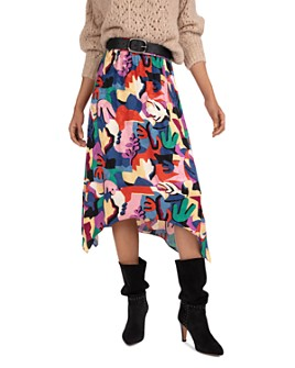 ba&sh - Maia Handkerchief-Hem Skirt