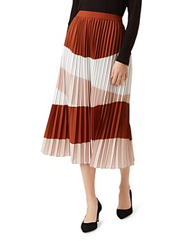 HOBBS LONDON - Bess Pleated Midi Skirt