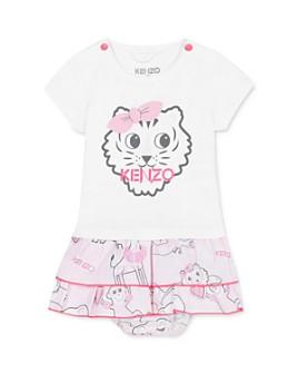 Kenzo - Girls' Ruffled Tiger Dress & Bloomers Set - Baby