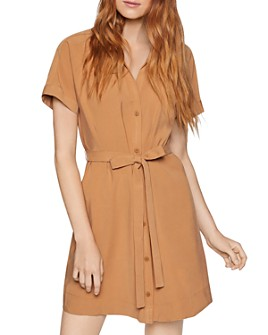 BCBGENERATION - Short-Sleeve Shirt Dress