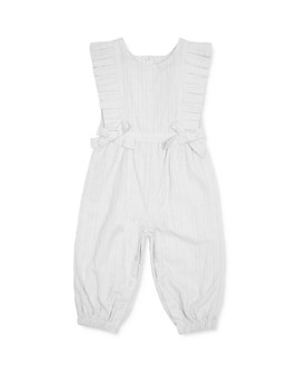 Habitual Kids - Girls' Eliana Cotton Swiss-Dot Jumpsuit - Baby