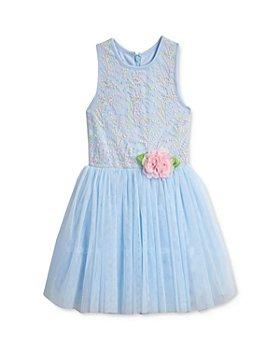 Pippa & Julie - Girls' Embroidered Bodice Dress - Little Kid