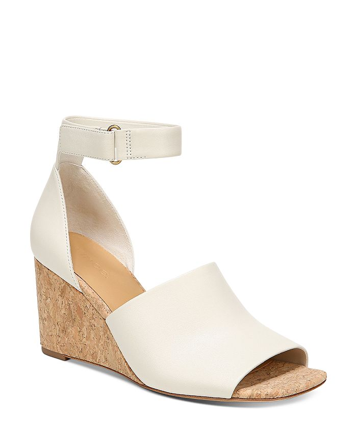 Vince - Women's Kensey Ankle-Strap Wedge Sandals