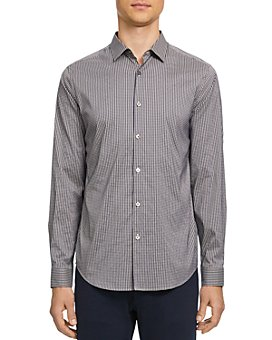 Theory - Murray Tech Slim Fit Button-Down Shirt