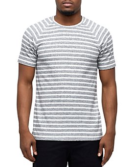 Wings and Horns - Cotton Striped Knit Tee