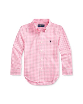 Ralph Lauren - Boys' Gingham Poplin Shirt - Little Kid